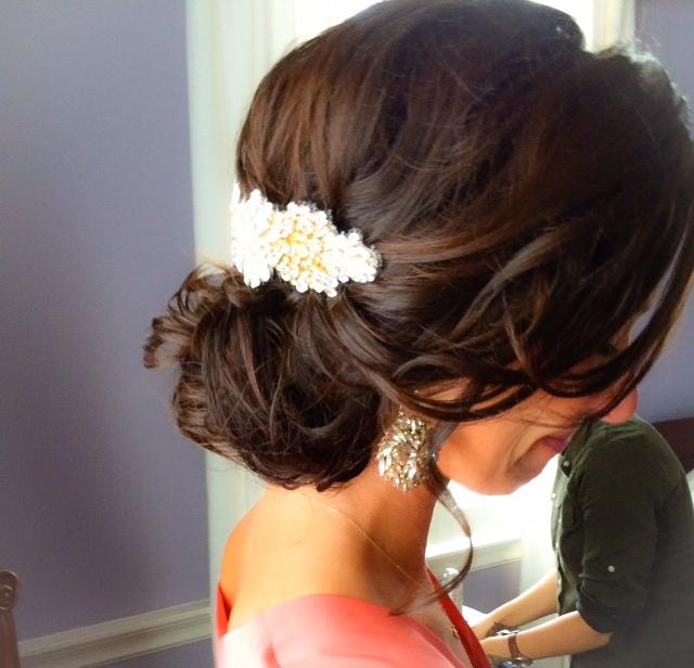 wedding hair in charleston sc